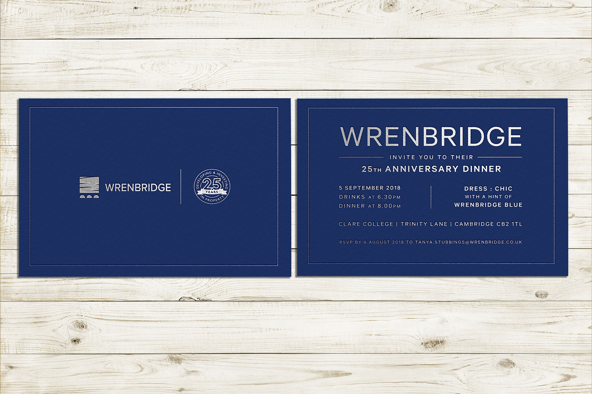 Wrenbridge identity creative