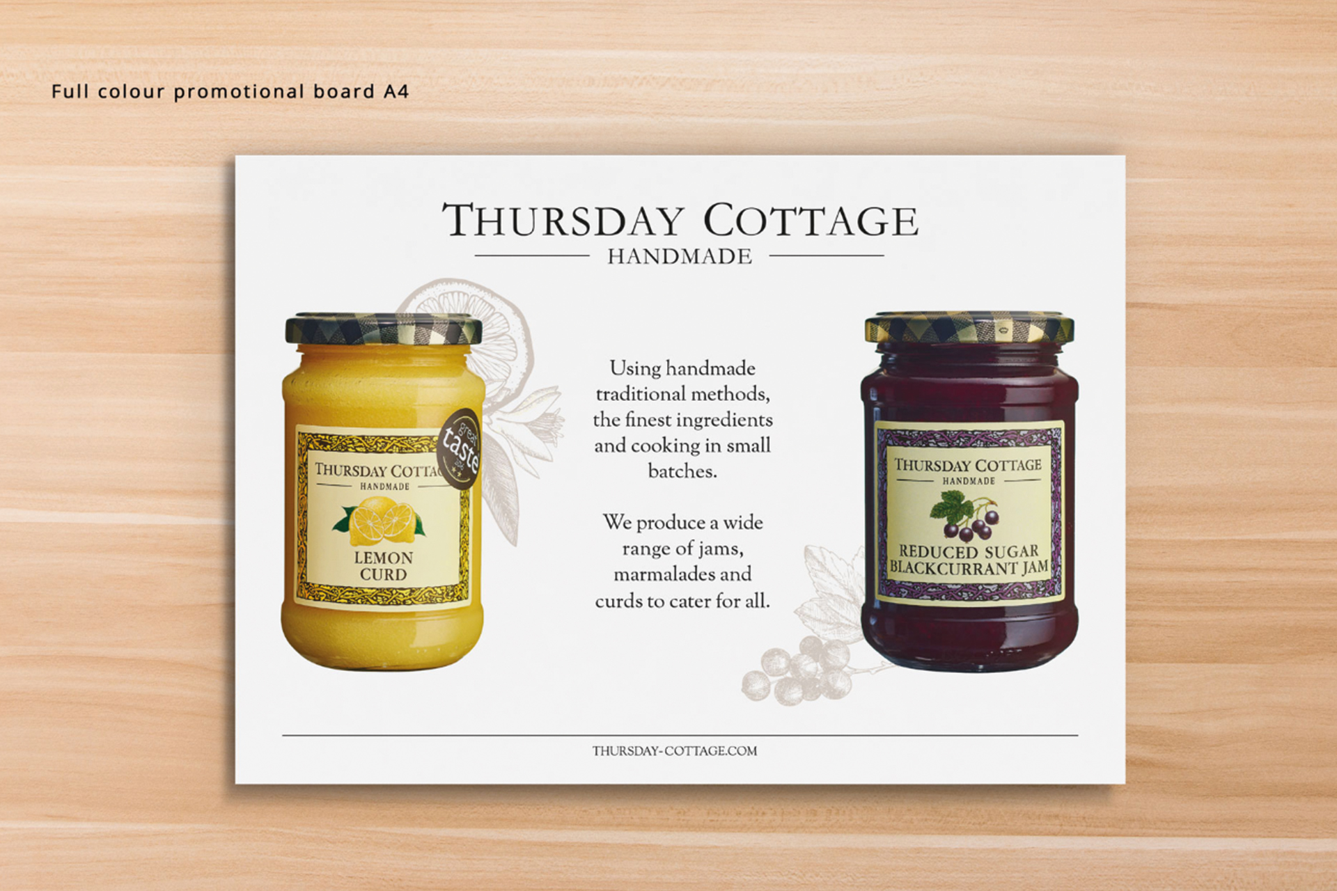thursday cottage identity creative